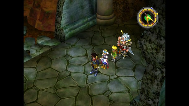 Grandia II: Anniversary Edition | Party Dungeon View
