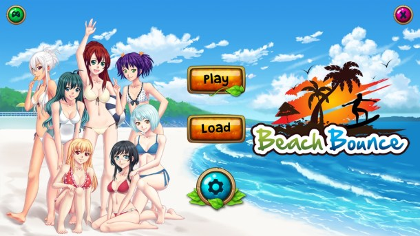 Beach Bounce | Title Screen