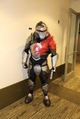 Believe it or not, it's Commander Shepard in his Blood Dragon armor.