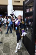 The most tasteful Ivy Valentine costume in existence. Yes, it's like a unicorn.