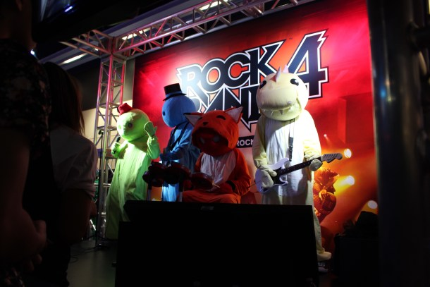 Gang Beasts rocking out