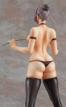 Meiko Shiraki uniform figure back topless