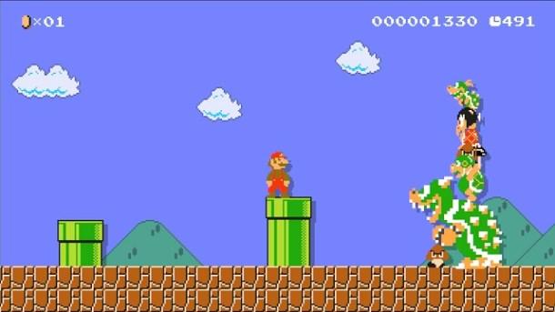 Super Mario Maker Giant Enemies