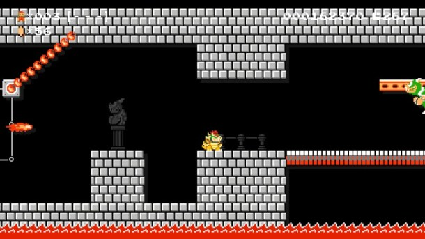 Super Mario Maker | Bowser Fights Bowser
