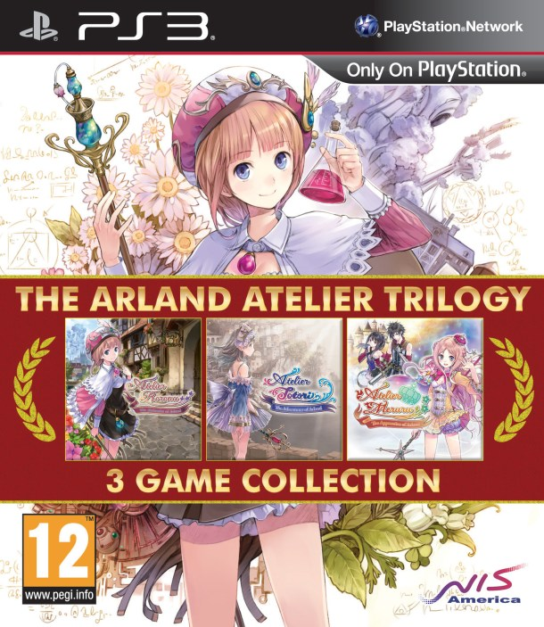 Arland Ateilier Trilogy | UK box