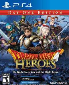 Dragon Quest Heroes | English Cover