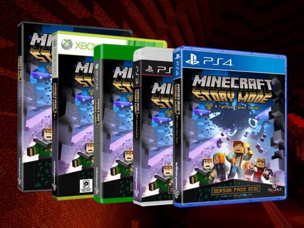Minecraft: Story Mode - Box Art