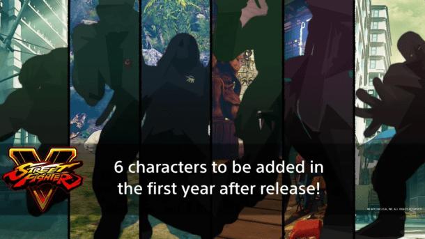 SFV 6 DLC characters 2016