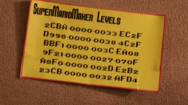Super Mario Maker Levels Card