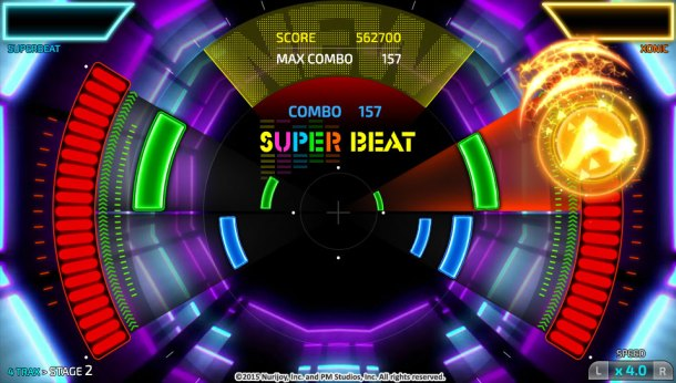 Previews | Superbeat Xonic Main Screen