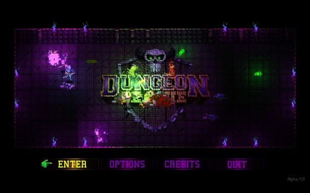 Dungeon League | Title Screen