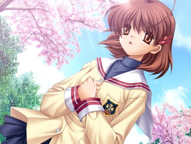 Nagisa art from Clannad