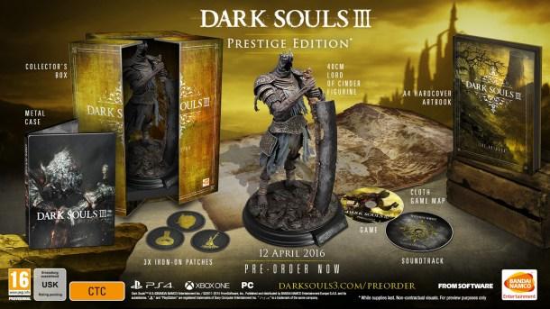 Dark Souls III - Prestige Edition