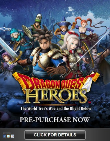 Dragon Quest Heres - Steam Ad