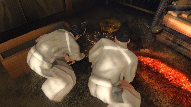 Ryu ga Gotoku Kenzan! | Crafting Weapons
