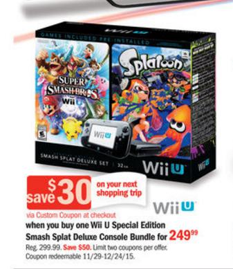 Smash Splat Wii U | oprainfall