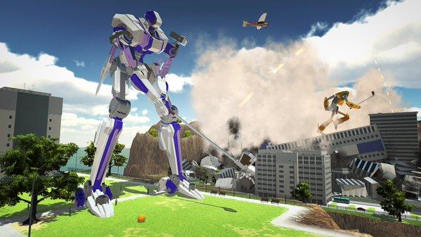 100ft Robot Golf   oprainfall