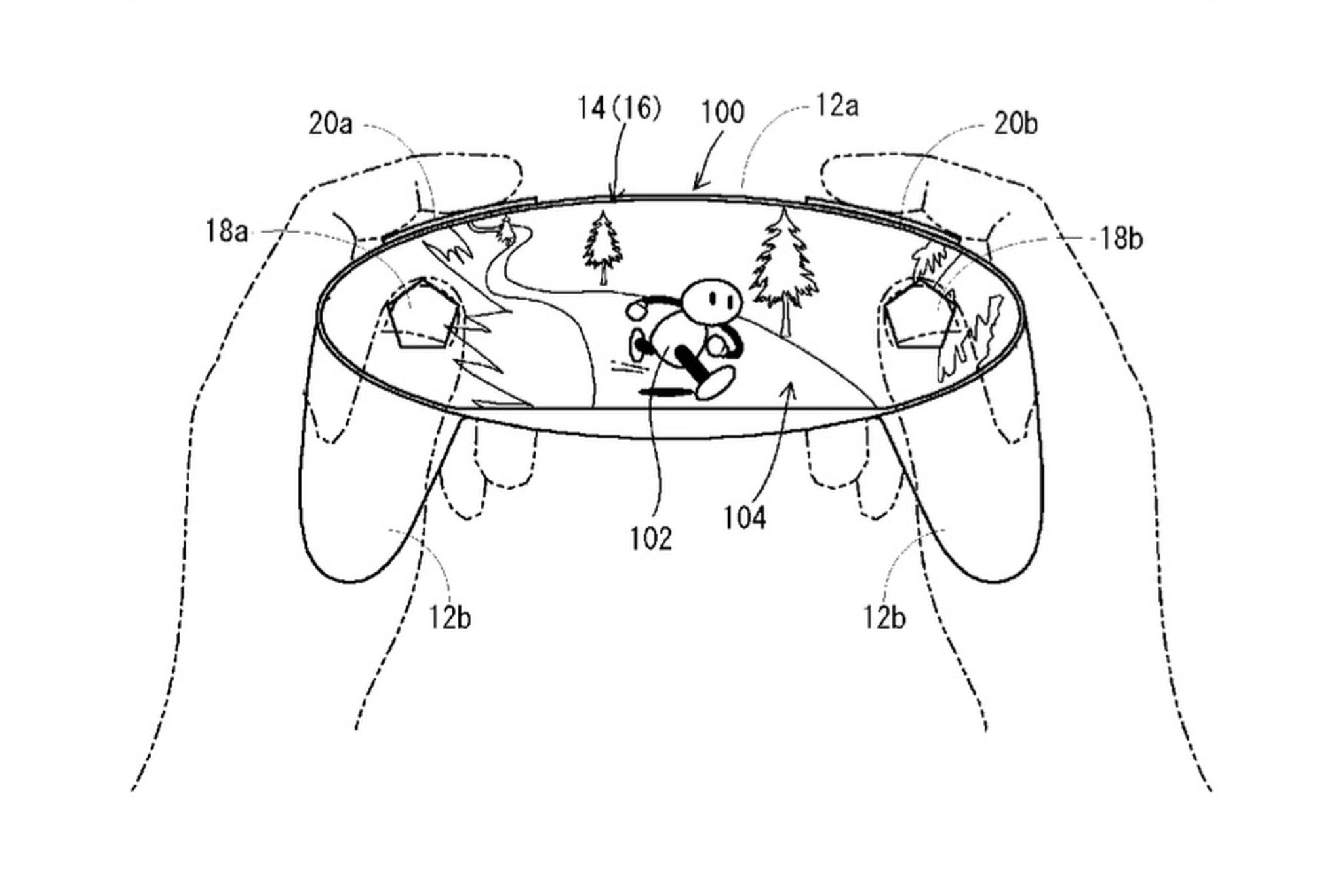 Nintendo Patents A Controller Made Of A Screen Nintendo Nx