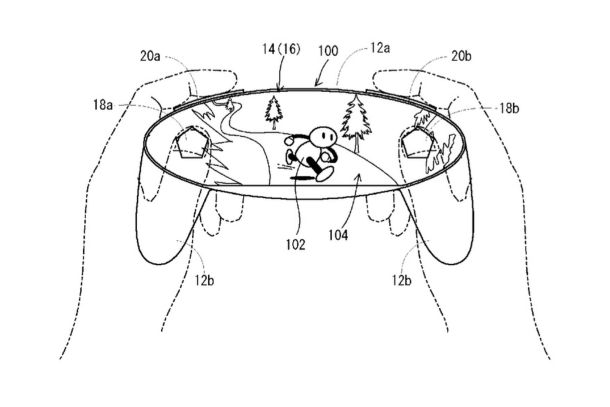 Nintendo Patent Image 1 - Screen Controller - Nintendo NX?