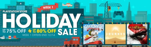 PSN Holiday Sale | Week 1