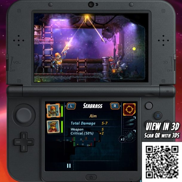 SteamWorld Heist 3DS - Ricochet