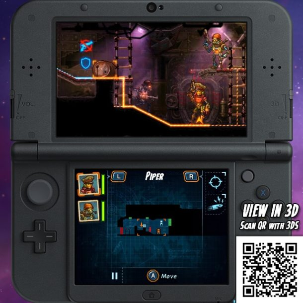SteamWorld Heist 3DS - Movement