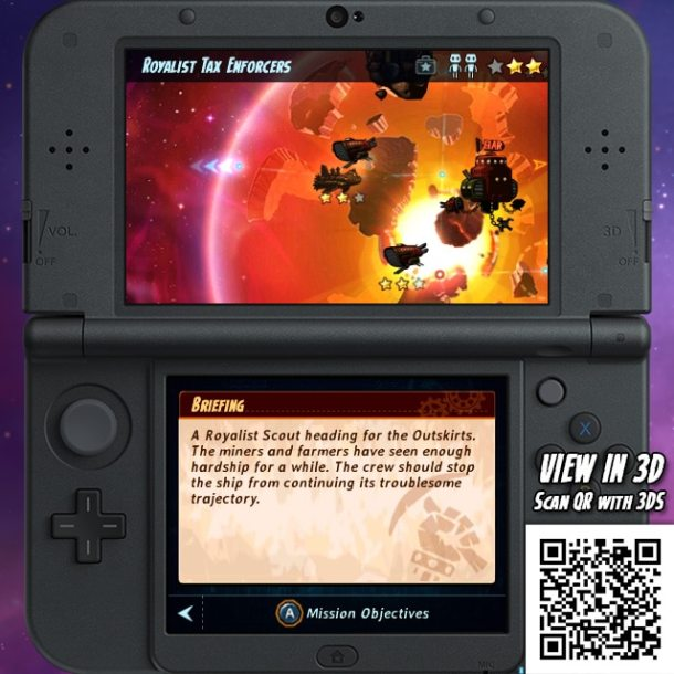 SteamWorld Heist 3DS - Spaceships