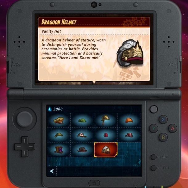 SteamWorld Heist 3DS - Hats