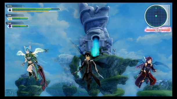Sword Art Online: Lost Song | Float Mode