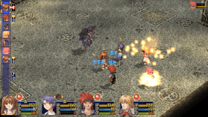 Trails in the Sky SC | Fire Art