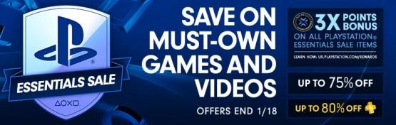 PSN essentials sale