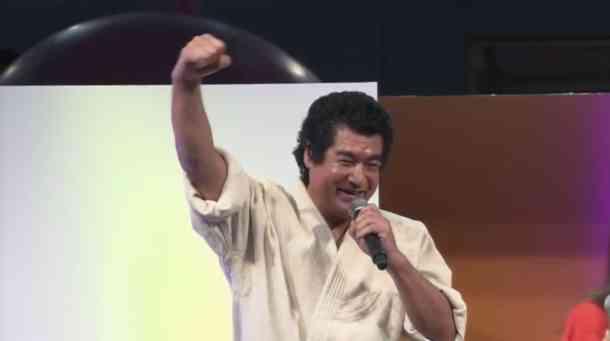 Segata Sanshiro | Segata Sanshiro at TGS 2015