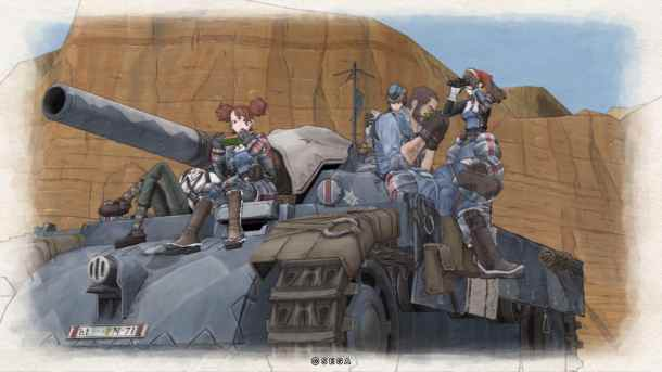 Valkyria Chronicles | Riding the Edelweiss