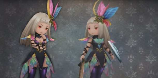 Bravely Second Costume Change