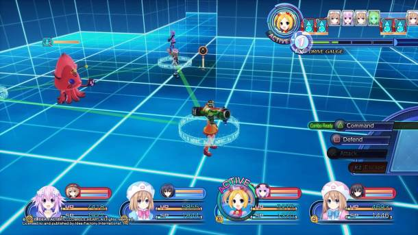 Megadimension Neptunia VII | Formation