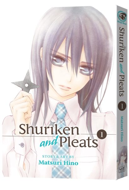 Shuriken and Pleats 1 English cover