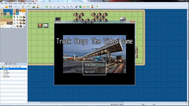 RPG Maker MV | Your Game's Title Screen
