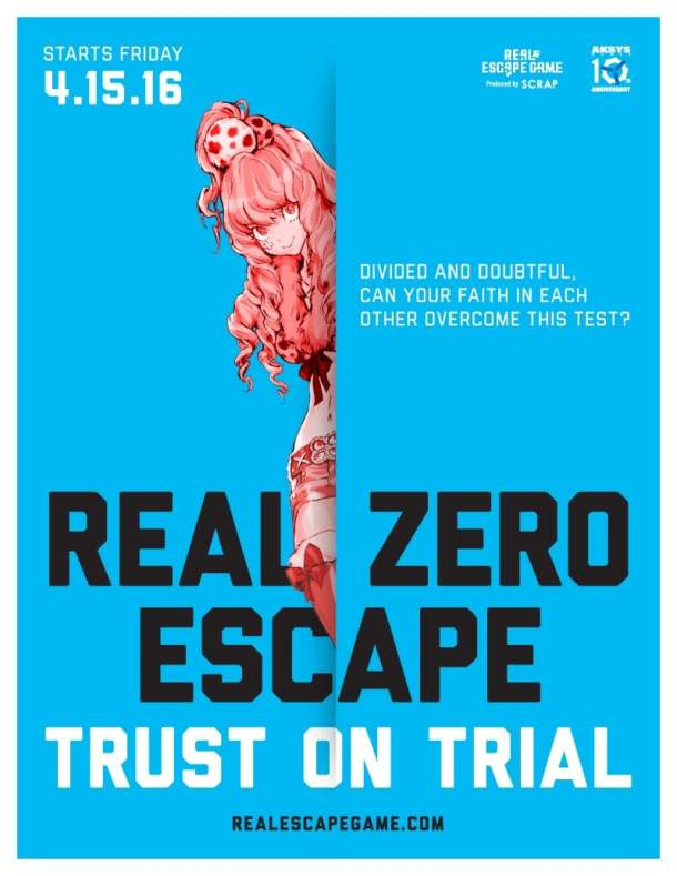 Zero Escape clover | Trust on trial