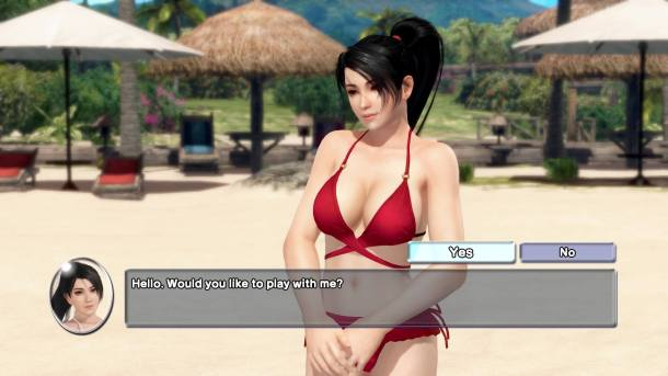 Dead or Alive Xtreme 3: Fortune | Befriending Momiji