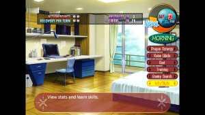 Beat Blades Haruka Main Screen