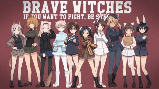 Brave Witches | PV Screenshot