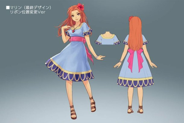 Marin from Link's Awakening