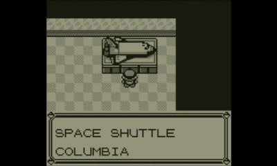Pokémon Red | Space shuttle Columbia