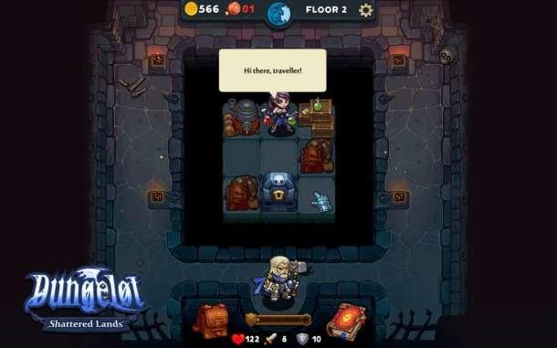 Dungelot: Shattered Lands | A Potion Shop Floor