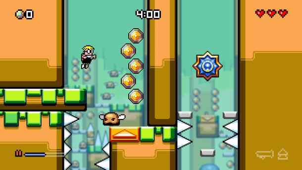 Mutant Mudds SC | Big Levels