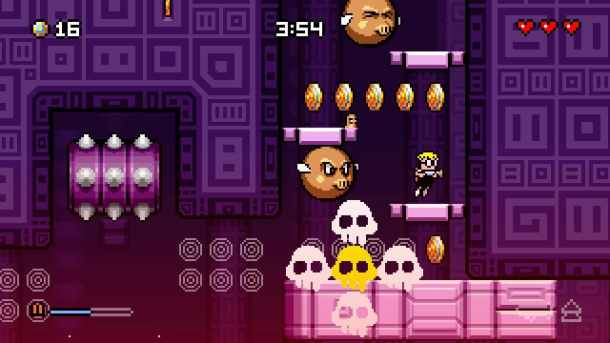 Mutant Mudds SC | Damned Piggies