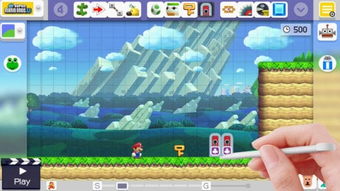 Super Mario Maker Keys Update