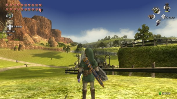 The Legend of Zelda: Twilight Princess HD | Hyrule Field's Kakariko Gorge