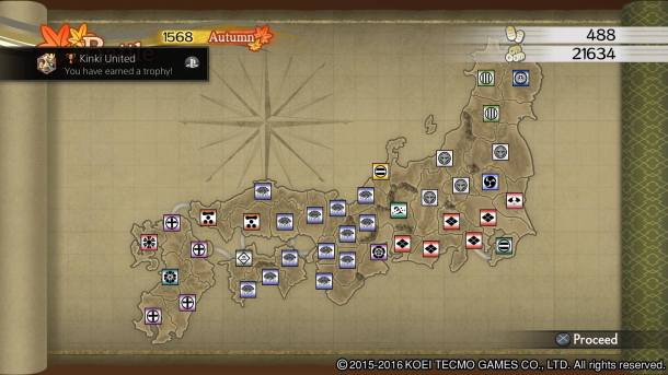 Samurai Warriors 4 Empires   Kinki United