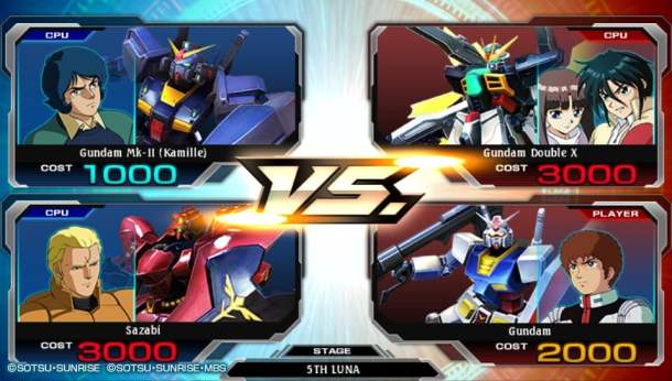 Gundam Extreme Vs Foce | Free Battle